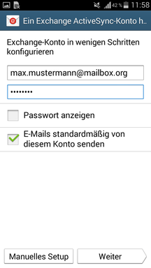 Mailbox Org Android