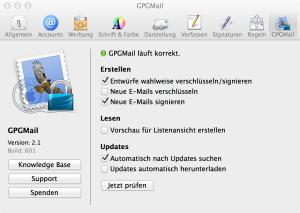 PGP-Einrichtung unter Mac OS X - Privat Kunden - mailbox org